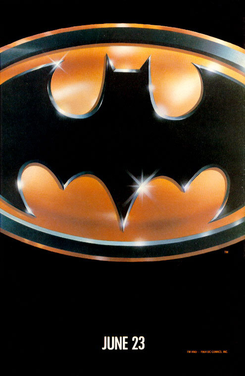 "promotional poster for ""Batman"""