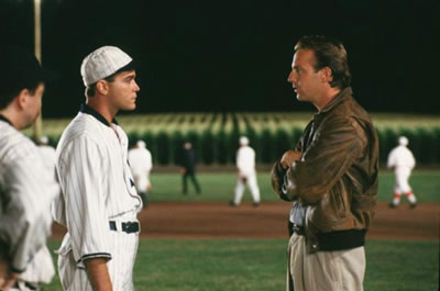 "screen grab from ""Field of Dreams"""