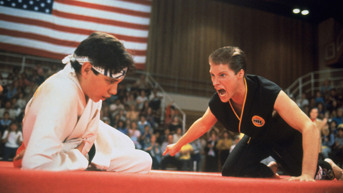 "screen grab from ""The Karate Kid Part III"""